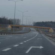 S-7 ring road of Kielce