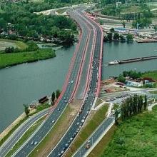 Nowocłowy Bridge in Szczecin