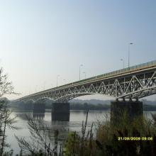 Remont mostu w Chełmnie